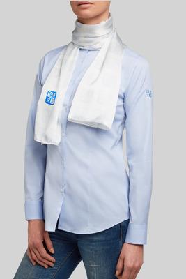 Blanco contraste Tatu Azul