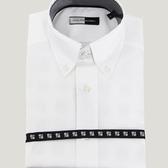 Camisa Hombre Clásica Blanca Contraste