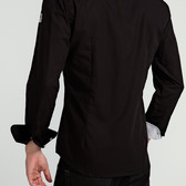 Camisa Hombre Clásica Negra Contraste | TatuSpirit