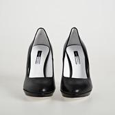 Zapato Salón Con Plataforma Negro   TatuSpirit