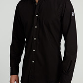 Camisa Hombre Clásica Negra | TatuSpirit